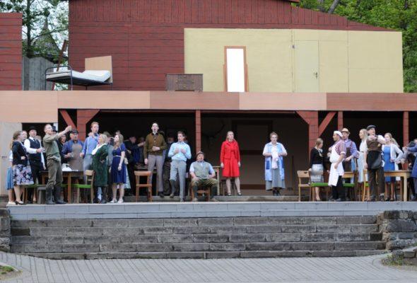 Kohlhiesels Töchter: Proben für die Uraufführung