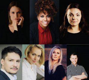 Cast der Musical-Gala Broadway meets Gießen