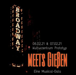 Logo Broadway meets Gießen